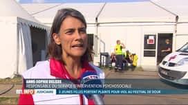 RTL INFO 19H : 3 plaintes pour viol au festival de Dour ont été déposées