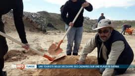 RTL INFO 19H : Tunisie: un pêcheur offre une sépulture aux migrants échoués