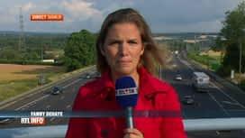 RTL INFO 19H : Le point en direct sur les départs en vacances