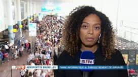 RTL INFO 13H : Panne informatique à l'aéroport de Bruxelles