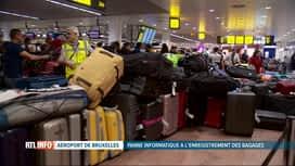 RTL INFO 19H : Panne informatique à l'aéroport de Bruxelles