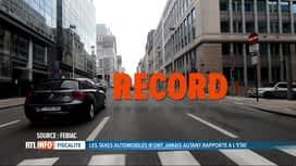 RTL INFO 19H : Les taxes automobiles ont rapporté plus de 20 milliards d'euros en ...