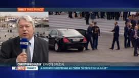 RTL INFO 13H : Défilé du 14 juillet: Christophe Giltay est en direct de Paris