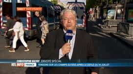 RTL INFO 19H : 14 juillet: Christophe Giltay est en direct de Paris