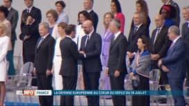 RTL INFO 19H : Charles Michel a assisté au défilé militaire du 14 juillet à Paris