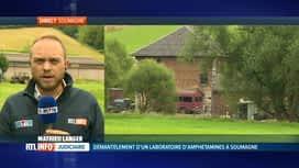 RTL INFO 13H : Un labo de métamphétamine a été découvert à Soumagne