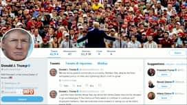 RTL INFO 13H : Donald Trump livre une série de tweets racistes et xénophobes