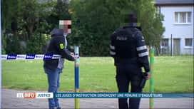 RTL INFO 13H : La justice dénonce le manque d'enquêteurs au sein de la police
