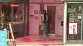 RTL INFO 13H : Le siège du Vlaams Belang a été vandalisé à Bruxelles