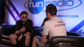 Fun Radio Family : Mosimann en interview dans le studio de Fun Radio à l'EMF 2019