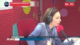 RTL INFO sur Bel RTL : RTL Info 8h du 17/07