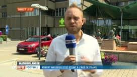 RTL INFO 13H : Hospitalisé depuis 7 jours, Robert Waseige s'est éteint ce matin