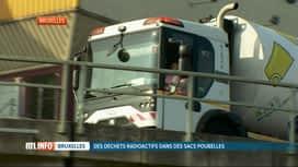 RTL INFO 13H : Des déchets radioactifs trouvés dans un sac poubelle à Bruxelles