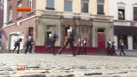 RTL INFO 13H : Opération de sécurisation dans le quartier du Triangle à Charleroi