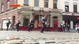 RTL INFO 19H : Opération de sécurisation dans le quartier du Triangle à Charleroi