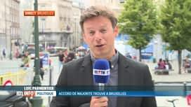 RTL INFO 19H : Accord des 6 partis sur le programme du gouvernement bruxellois