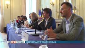 RTL INFO 19H : Les grandes lignes du programme du gouvernement bruxellois