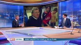 RTL INFO 19H : Serge Vermeiren évoque la mémoire de Robert Waseige en plateau