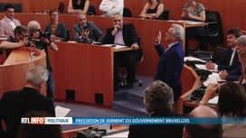 RTL INFO 13H : Le nouveau gouvernement bruxellois a prêté serment ce matin