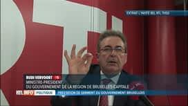 """RTL INFO 13H : Rudi Vervoort veut faire """"baisser la pression automobile"""" à Bruxelles"""