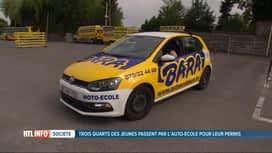 RTL INFO 13H : 73% des jeunes passent leur permis de conduire par auto-école