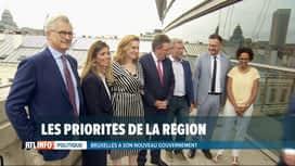RTL INFO 19H : Le gouvernement bruxellois a présenté ses priorités