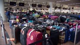 RTL INFO 13H : Panne à Brussels Airport: des touristes belges toujours sans bagages
