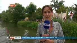 RTL INFO 13H : 3 étangs de la région bruxelloise ouverts à la baignade cet été