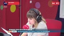 RTL INFO sur Bel RTL : RTL Info 13h du 19/07