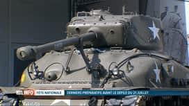 RTL INFO 19H : 21 juillet: des véhicules de la guerre 40-45 défileront dimanche