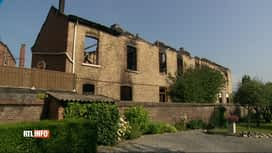 RTL INFO 19H : Incendie suspect à Rochefort: l'occupant de la maison introuvable
