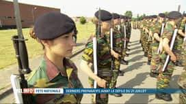 RTL INFO 19H : 21 juillet: l'armée belge doit recruter 10.000 candidats d'ici 2024