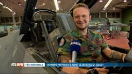 RTL INFO 19H : 21 juillet: rencontre avec Steve, électronicien basé à Florennes