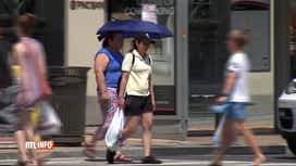RTL INFO 13H : Une vague de chaleur touche les Etats-Unis