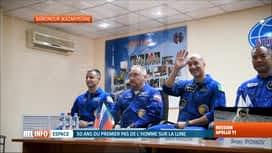 RTL INFO 13H : Décollage de trois astronautes pour l'ISS ce soir