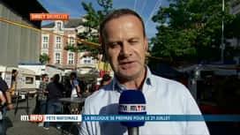 RTL INFO 19H : Fête nationale: le bal national a lieu ce soir