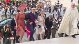 RTL INFO 13H : La famille royale a assisté au Te Deum ce matin