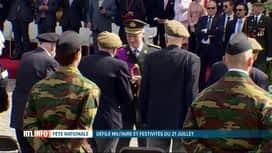 RTL INFO 19H : Le défilé militaire a célébré les 75 ans de la Libération