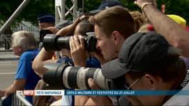RTL INFO 19H : Fête nationale: l'ambiance lors du défilé militaire