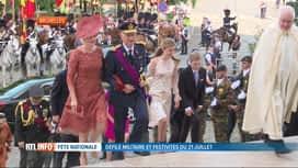 RTL INFO 19H : La famille royale a assisté au Te Deum ce matin