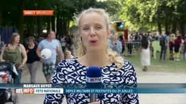 RTL INFO 19H : Le déroulement de la fête nationale, en direct de Bruxelles