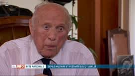 RTL INFO 19H : Rencontre avec un vétéran de la seconde guerre mondiale