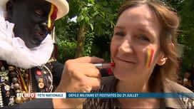 RTL INFO 19H : La foule était présente pour la fête nationale à Bruxelles