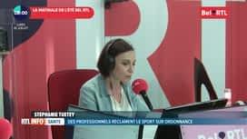 RTL INFO sur Bel RTL : RTL Info 8h du 22/07