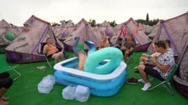 Radio Contact à Tomorrowland : Le camping