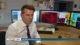 RTL INFO 19H : Canicule: nouvelle vague de chaleur et alerte rouge à prévoir