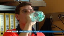 RTL INFO 19H : Canicule: il faut éviter les efforts physiques et bien s'hydrater