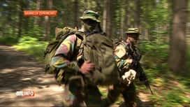 RTL INFO 19H : Canicule: l'entraînement des soldats par cette forte chaleur à Spa