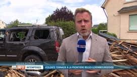 RTL INFO 13H : La nuit a été pénible à Pétange où les habitants sont sous le choc