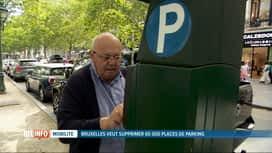 RTL INFO 13H : Bruxelles veut supprimer 65.000 places de stationnement en surface